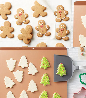 How to bake Jolly Gingerbread Boys and Trees Cookies