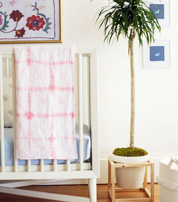 How To Make A Shibori Baby Swaddling Blanket