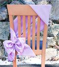 Stretch Taffeta Chair Bow