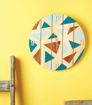 How to Make a Geometric Wood Clock