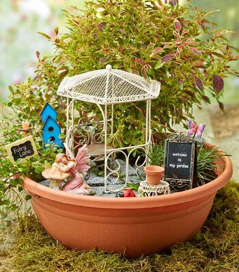 Fairy Garden Terrace Scene