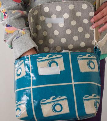 How To Make A Vinyl Messenger Bag