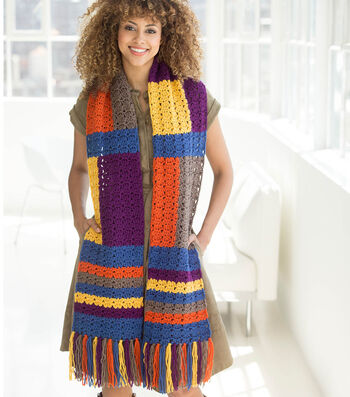 How to Crochet A London Calling Scarf