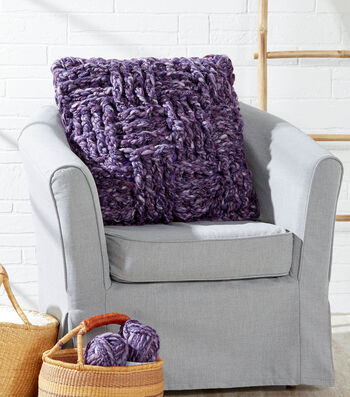 How To  Crochet A Super Chunky Pillow