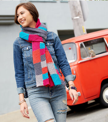 How To Make A Miter Me This Scarf