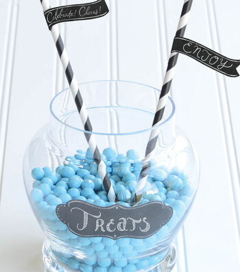 Idea Market Chalk It Now Candy Jar