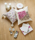 Buttercream Elizabeth Collection Yarn Decorated Pillow Covers