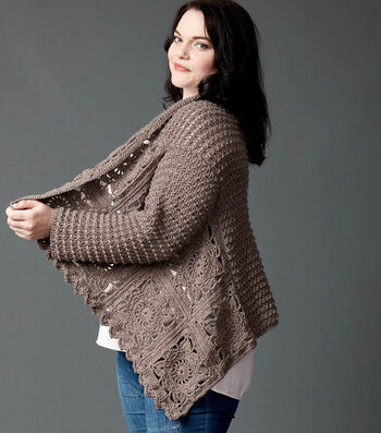 How To Make A Crochet Granny Cardigan