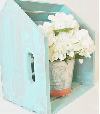 Make A Cottage Chic Home Décor Storage Bins