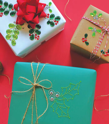 How to Make Holiday Bling Gifts, Tags and Cards