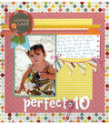 Summer Days Scrapbook Page