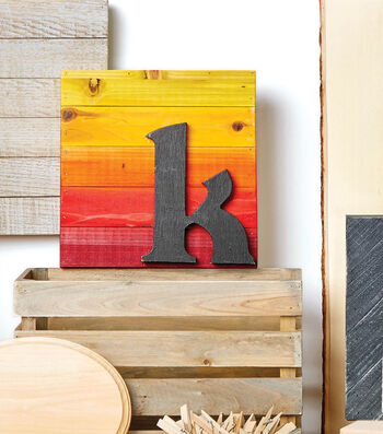 Make A Dyed Wood Pallet