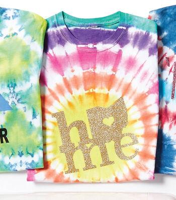 Make A Bullseye Tie-Dye T-shirt