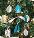 Color Block Paper Ornaments