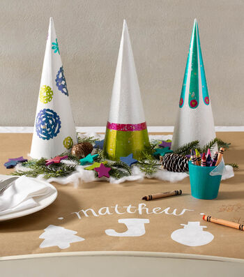 How To Make A Color Shift Holiday Kids Table