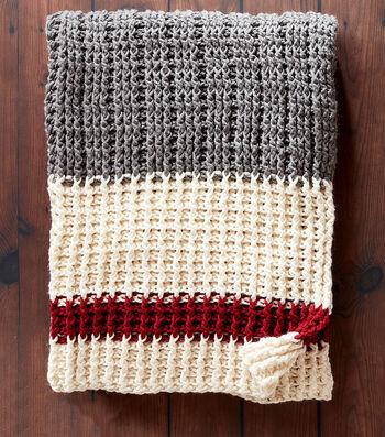 How To Make A Lumberjack Crochet Throw