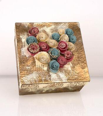 Paper Rose Box