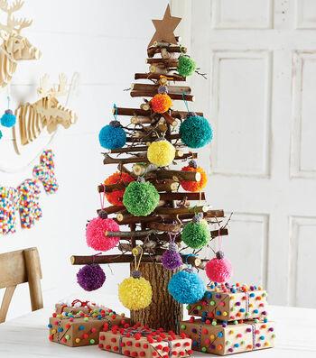 How To Make Pompom Ornaments