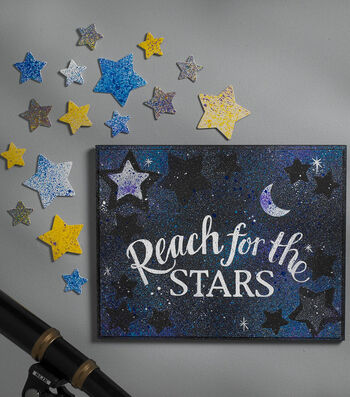 How To Make A Reach for the Stars Plaque
