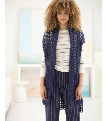 How to Crochet A Hi-Low Vest