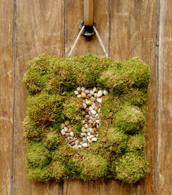 Moss Monogram Door Hanger