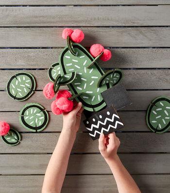 Make A Cardboard Cactus Puzzle