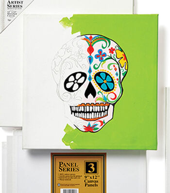 How To Make A Sugar Skull Wall Art Canvas