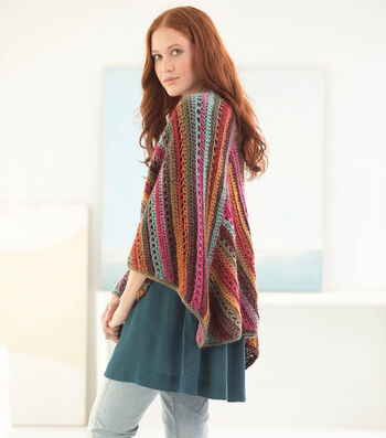 How To Make A Striated Triangles Shawl