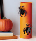 Spiders on Cylinder