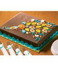 Paisley Peacock Cake