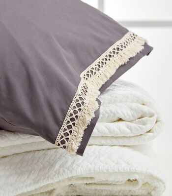 How To Make A Boho Bed Pillow