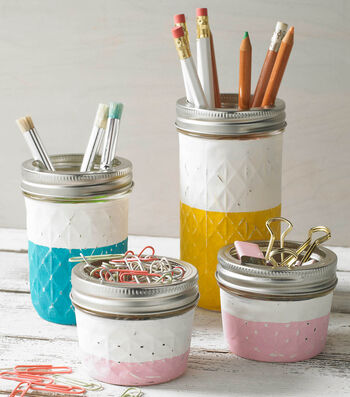 How To Make Chalk Jars