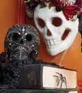 Black Skull With White Pattern