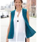 Soft Draper Crochet Vest
