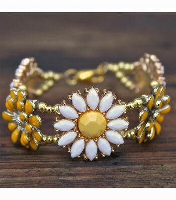 How To Make A Wild Flower Bracelet