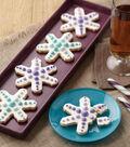 Ombre Snowflake Cookies