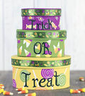Stackable Halloween Candy Boxes