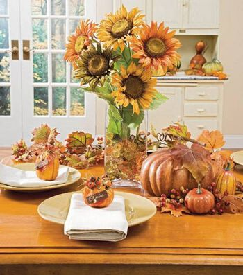 Fall Tablescaping