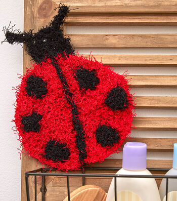 How To Make A Lucky Ladybug Scrubby