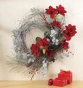 Amaryllis & Orchid Wreath
