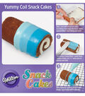Ombre Coil Snack Cakes