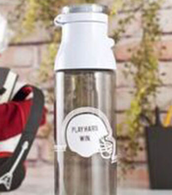 How To Make A Football Water Bottle