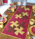 Twist and Stitch Table Runner