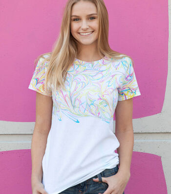 How To Make A Marbled T-Shirt