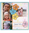 Island Girls Scrapbook Page