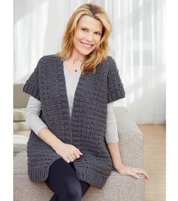 How to Crochet A City Sleek Ruana