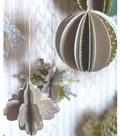Dimensional Holiday Ornaments