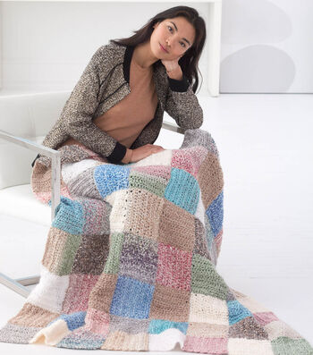 How to Crochet A Patchwork Afghan