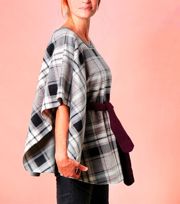 How To Make A No Sew Fleece Fashion Poncho