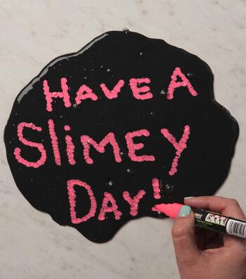 How To Make Chalkboard Slime